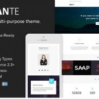 Dante v3.5.15 - многоцелевая тема WordPress