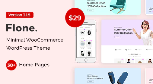 Flone v2.0.0 NULLED -  WooCommerce WordPress