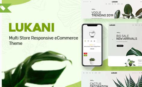 Lukani v1.0.3 - шаблон WooCommerce WordPress