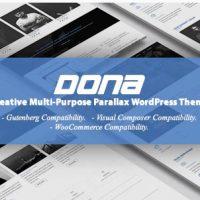 DONA v3.0 - креативная многоцелевая тема WordPress