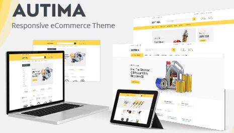 Autima v1.0.3 -WooCommerce WordPress