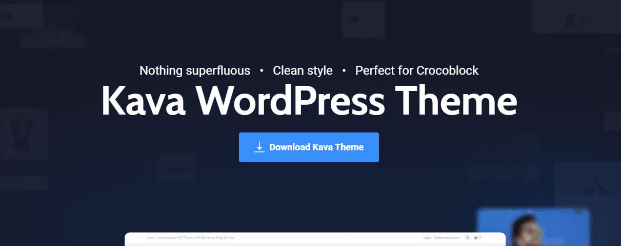 Kava Pro v2.0.2 NULLED - тема WordPress (Elementor)