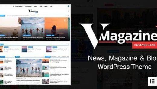 Vmagazine v1.1.7 - шаблон для WordPress