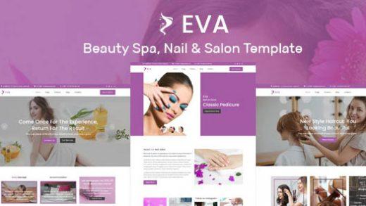 Cinderella v2.3 - салон красоты WordPress тема