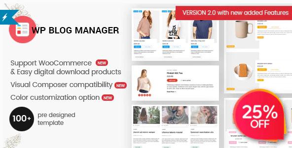 WP Blog Manager v2.0.3