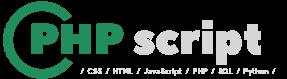 PHP Скрипты