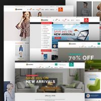 Caden v1.3.6 - шаблон интернет магазина WordPress