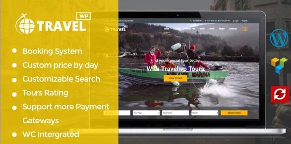 TravelWP v1.6.5 шаблон WordPress