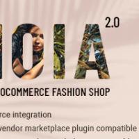 Gioia v2.0 NULLED - магазин одежды WordPress