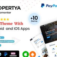 Propertya v1.0.7 - тема WordPress