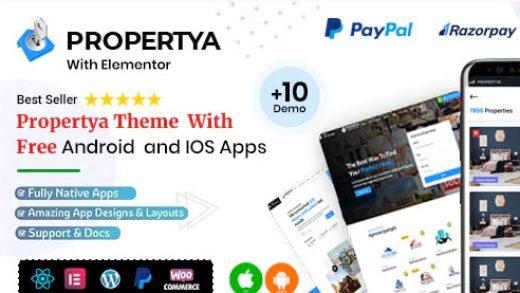 Propertya v1.0.7 - тема WordPress