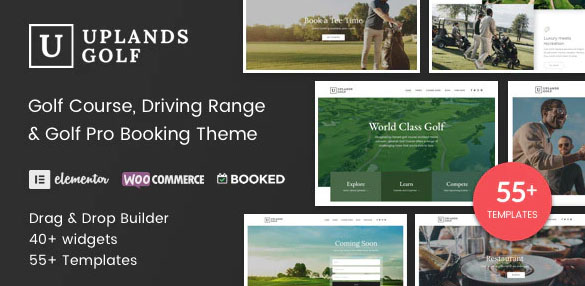 Uplands v1.4 - шаблон на тему гольфа WordPress