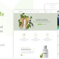 NaturaLife v1.9 - шаблон сайта WordPress