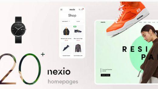 Nexio v1.1.3 - магазин одежды WooCommerce